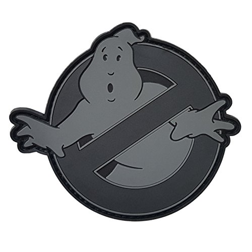 ACU Ghostbusters No Ghost Subdued Cosplay Movie PVC Gomme 3D Hook-and-Loop Écusson Patch de 2AFTER1