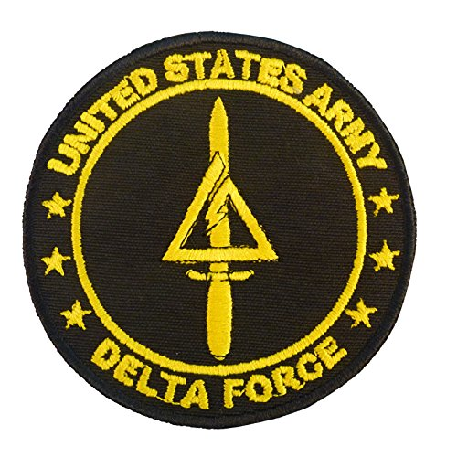 Call of Duty COD Delta Force US Armée Operational Detachment Delta SFODA-D SFG Hook-and-Loop Écusson Patch de 2AFTER1