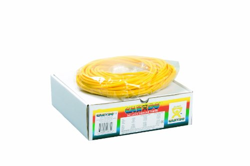 Cando W54246 Tube Elastique sans Latex, 30,5 m, Super Souple, Jaune de 3B Scientific