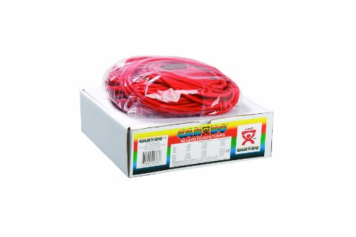 Cando W54247 Tube Elastique sans Latex, 30,5 m, Souple, Rouge de 3B Scientific