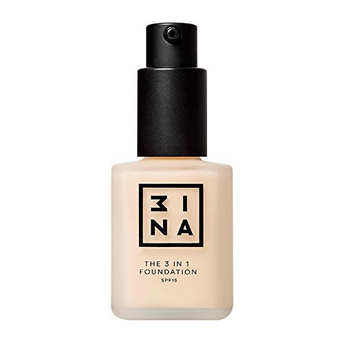 3INA Maquillage Visage Fond de teint The 3-in-1 Foundation Beige ultra clair 30 ml de 3INA