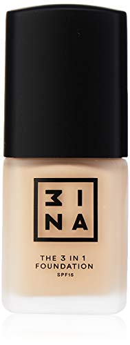 3INA Maquillage Visage Fond de teint The 3-in-1 Foundation Sable clair 30 ml de 3INA