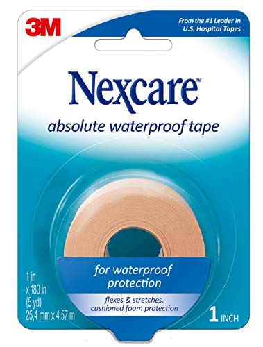 3M Nexcare Absolute Waterproof Premium First Aid Tape-5yds de 3M