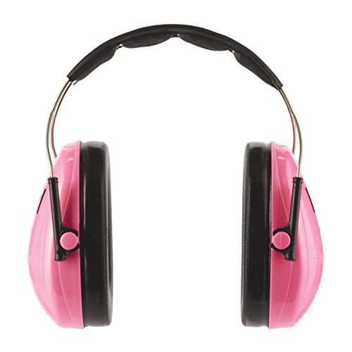 3M H510 Peltor Kid Casque antibruit Rose Fluorescent de 3M