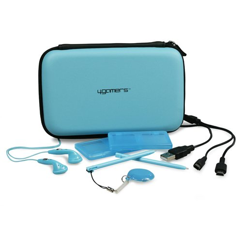 Pack d'accessories 4 DS/DS Lite/DSi/DSi XL - bleu de 4Gamers