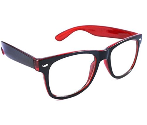 """4sold Rubi Lunettes de Lecture /de vue - 0.50, 0.75, 1.00, 1.50, (verre transparent) (Red Black, 1.50)"" de 4sold"