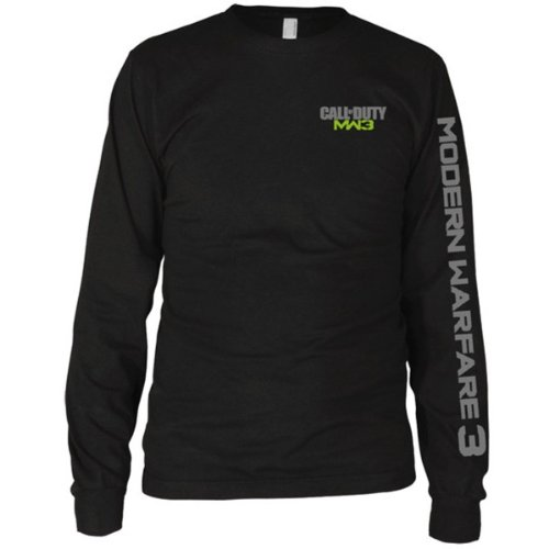 T-Shirt manches longues 'Call of Duty Modern Warfare 3' - noir - Taille L de ACTIVISION