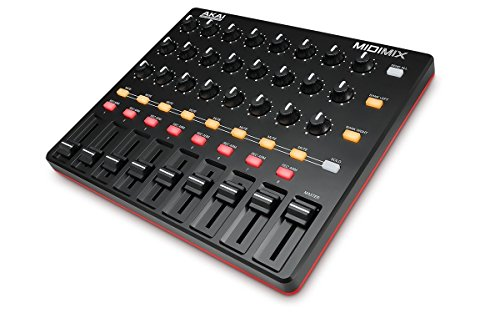 Akai Professional MIDImix - Mixer et Contrôleur MIDI Portable et Ultra Performant avec 8 Faders et 24 Potentiomètre + Ableton Live Lite Inclus de AKAI Pro