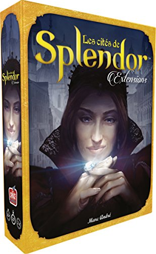 Splendor - Ext. Cities of Splendor de Asmodee