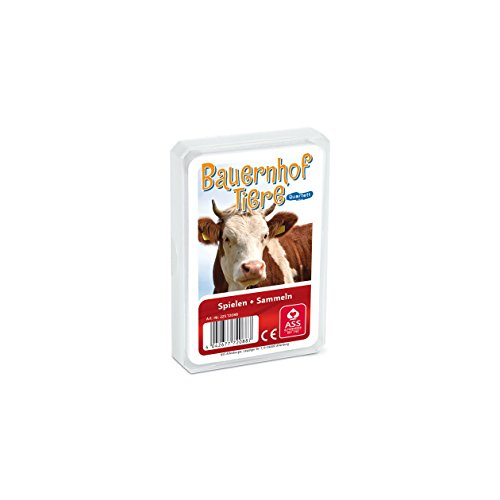 SA Quartet – Jeu de Cartes, Animaux de la Ferme - Ass Altenburger 22572088. de SA