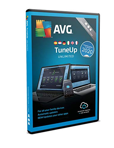AVG TuneUp 2018 | ILLIMITÉ | 1 an de AVG Technologies