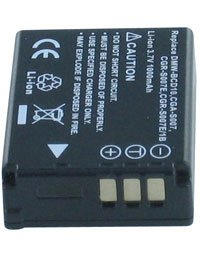 """Batterie pour PANASONIC LUMIX DMC-TZ5, 3.7V, 1000mAh, Li-ion"" de AboutBatteries"