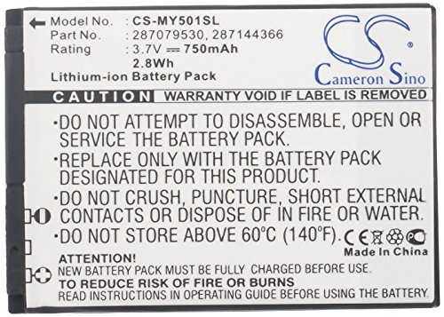 """Batterie pour SAGEM MY332V, 3.7V, 750mAh, Li-ion"" de AboutBatteries"