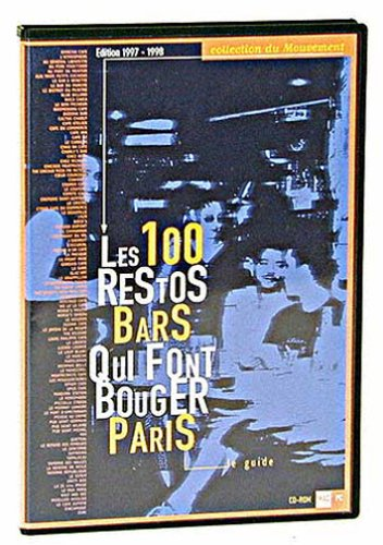 100 restos et bars qui font bouger paris de Aedena Creation