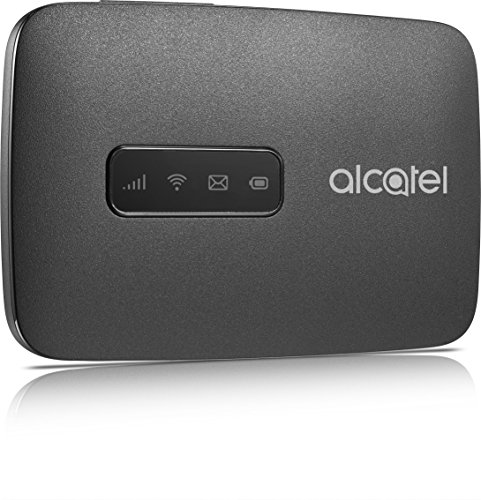 Alcatel mw40 V-2aalde1 Link Zone Internet Mobile Hotspot 150 Mbps, WiFi, 4 G LTE CAT4 (Noir) de Alcatel