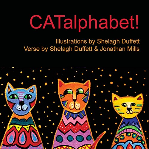 Catalphabet!: Alphabet with Cats de Aliceinparisart
