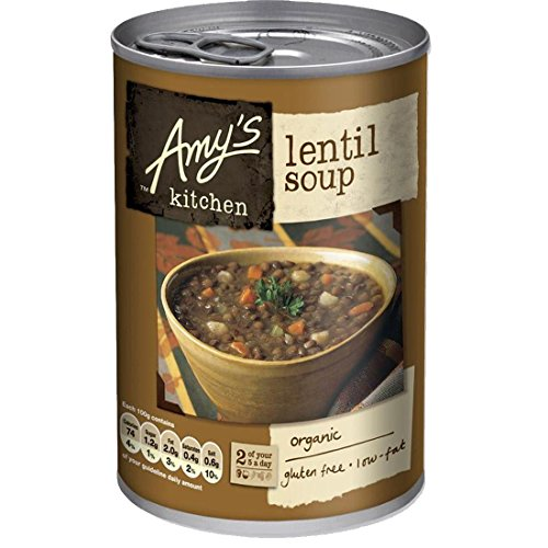 Amy's Kitchen | Lentil Soup | 3 x 400g de Amy's Kitchen