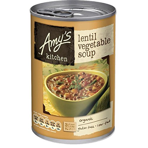 Amy's Kitchen | Lentil Vegetable Soup | 3 x 400g de Amy's Kitchen