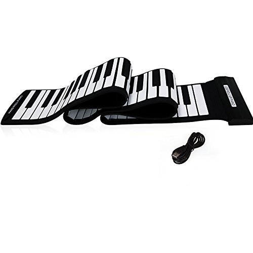 Andoer USB 88 Touches MIDI Rouler Piano Clavier Electronique Silicone Professionnel Flexible de Andoer