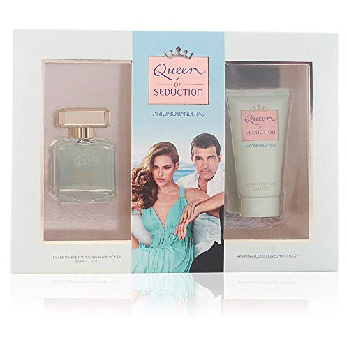 Antonio Banderas Queen of Seduction Set d'Eau de Toilette + Lotion Corporelle + Trousse 100 ml de Antonio Banderas