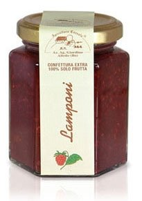 Apicoltura Cazzola - Raspberries Jam (NO Pectin) - Jar of 200 g (Pack of 2 Glass Jars) de Apicoltura Cazzola