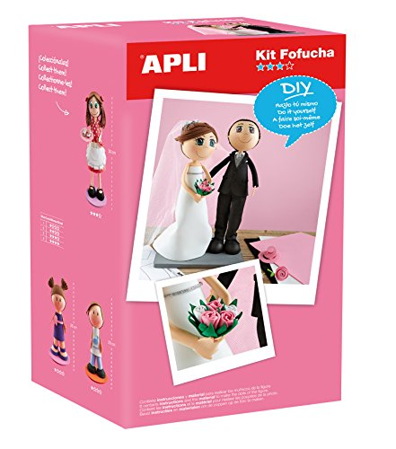 Apli kids 13849 Couple en Mousse poupée kit de Apli kids
