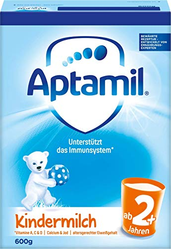 Aptamil Lait Enfants 2 +, Lot de 5 (5 x 600 g) de Aptamil
