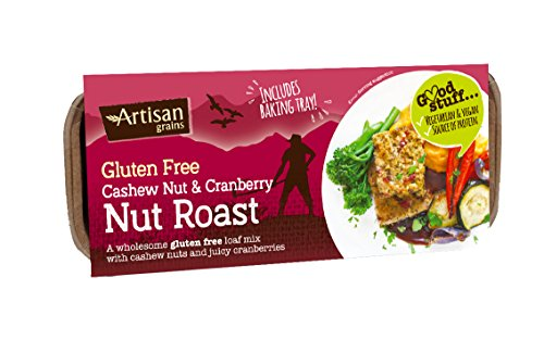 Artisan Grains | Nut Roast - Cashew & Cranberry | 1 x 200g de Artisan Grains