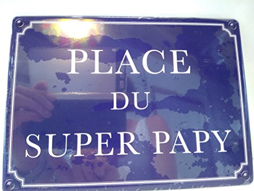 As de coeur Plaque de porte Place du super papy de As de coeur