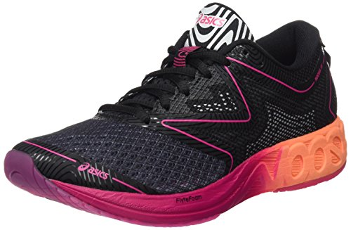 """Asics Noosa Ff, Chaussures de Gymnastique Femme, Noir (Black / Hot Orange / Pink Peacock), 37.5 EU"" de Asics"