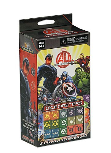 Asmodee - WK72141 - Jeux de cartes - Marvel Dice Masters - Starter Age of Ultron de Asmodee