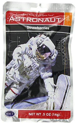 American Outdoor Products Freeze-Dried Astronaut, Strawberries (Pack of 10) by Funky Food Shop de Astronaut