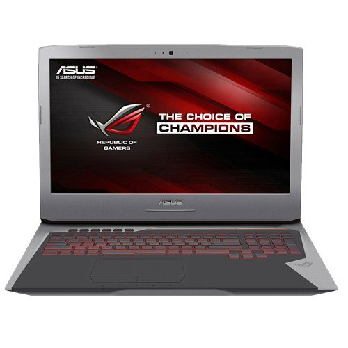 ASUS ROG G752VY-GC144D - Intel Core i7-6700HQ (2.6GHz, 6MB Cache), 8GB DDR4, 1000GB HDD, NVIDIA GeForce GTX 980M, Gigabit Ethernet, Free DOS de marque+generique