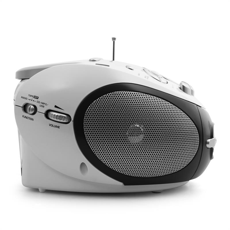 [OCCASION] - Majestic Audiola AHB-0388 Boombox lecteur CD portable USB MP3 FM K7 de Audiola