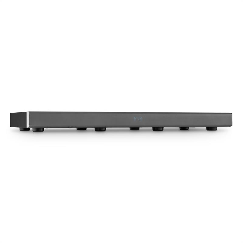 [OCCASION] - Auna Stealth Bar 70 Barre de son 2.1 Touch Bluetooth USB FM AUX métal chromé de Auna