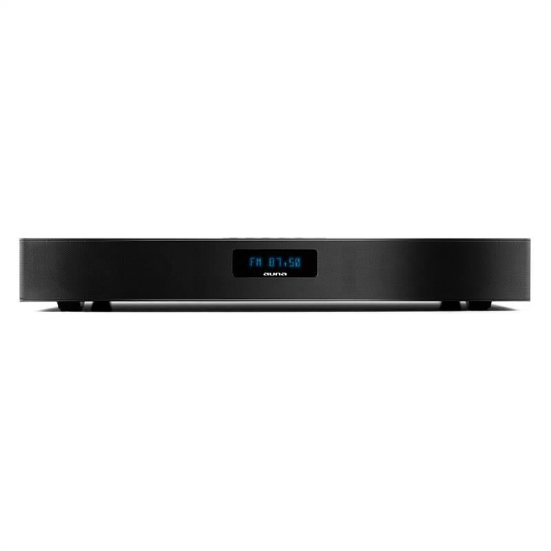 [RECONDITIONNÉ] - Auna Stealthbar 50 Barre de son 2.1 Bluetooth 100W max. DAB+ FM AUX de Auna