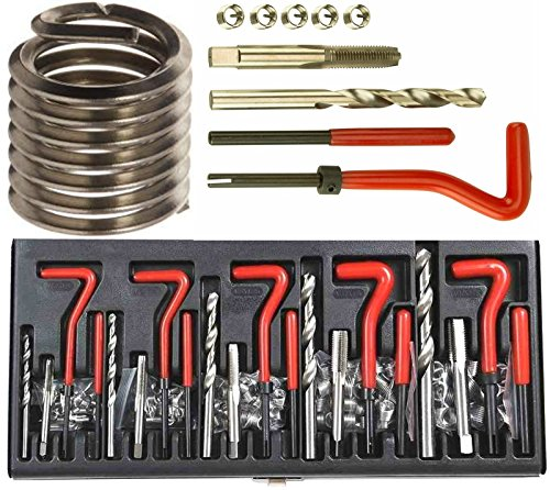 Kit de réparation de filetages, 131 pièces de Auto Tools Direct
