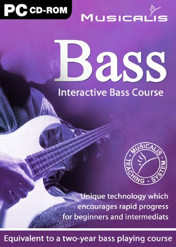 Musicalis Interactive Bass Guitar Course [Import anglais] de Avanquest Software