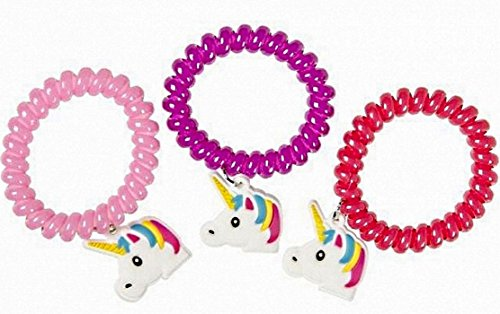 1 BRACELET LICORNE RESSORT ENFANT BIJOUX FANTAISIE MODE de BG International