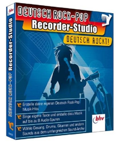 Deutsch Rock-Pop Recorder Studio [import allemand] de BHV