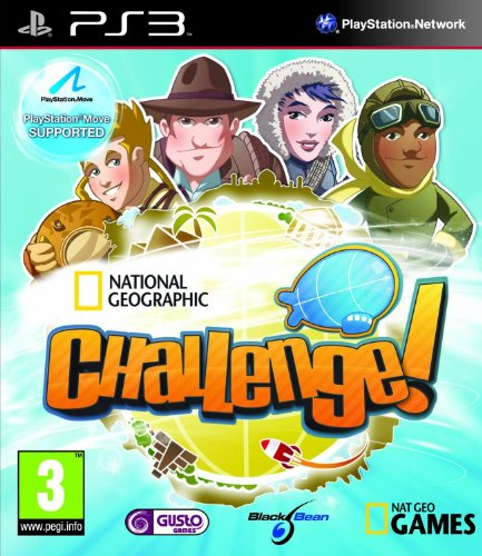 PS3 NATIONAL GEOGRAPHIC CHALLENGE! (EU) de BLACK BEAN