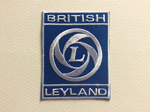 ECUSSON PATCHES AUFNAHER TOPPA - BRITISH LEYLAND - 7.5*5.7 CM - THERMOCOLLANT de BLUE HAWAI
