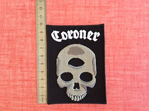 ECUSSON PATCHES AUFNAHER TOPPA - CORONER - THERMOCOLLANT de BLUE HAWAI