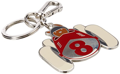 BOSS Business Hb Road_key Fob Dog, Porte-clés homme, Rouge (Bright Red), 0.25x10.5x6.2 cm (B x H T) de BOSS Business