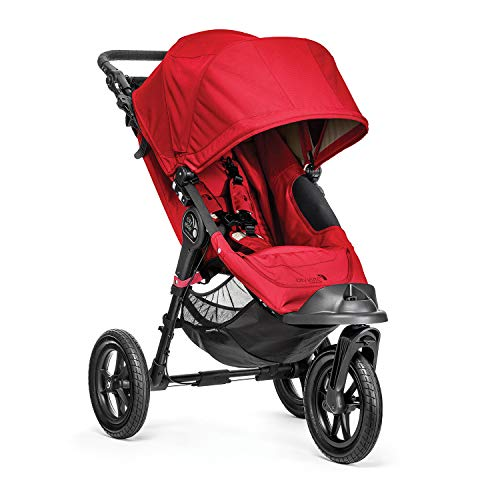 Baby Jogger Poussette 3 Roues Elite Single Rouge de Baby Jogger