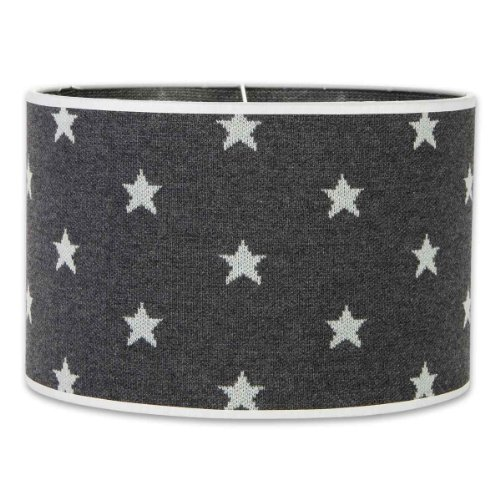Baby's Only Abat-jour Star gris anthracite et gris (30 cm) - Gris de Baby's Only