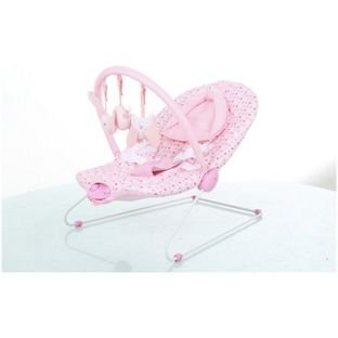 Bébé par Chad Valley Deluxe Rose Bouncer. de Baby