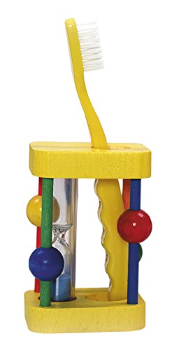 Hess Wooden Toddler Toy Toothbrush Stand de BabyCentre