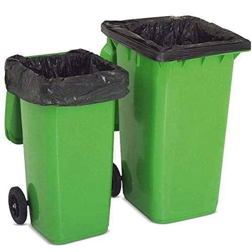 50 Wheelie Bin Liners / Sacks / Refuse Bags For Rubbish by Bag It Plastics de Bag It Plastics