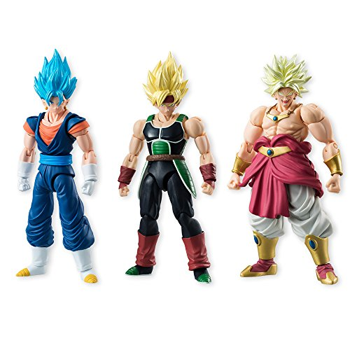 Dragon Ball Shodo Vol. 5 Assortiment de 3 figurines - 10 cm de Bandai
